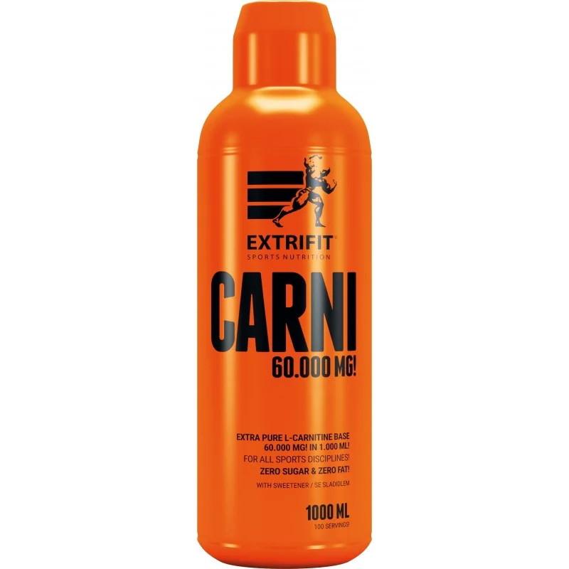 Жиросжигатель Extrifit Carni 60 000 Liquid, 1 литр Абрикос
