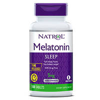 Восстановитель Natrol Melatonin 5mg Time Release, 100 таблеток