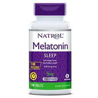 Восстановитель Natrol Melatonin 5mg Time Release, 100 таблеток