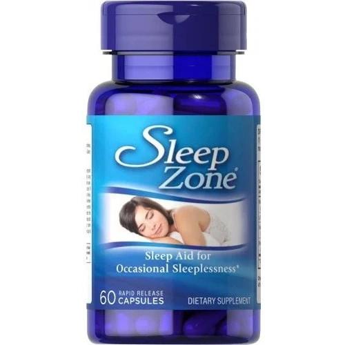 Восстановитель Puritan's Pride Sleep Zone, 60 капсул