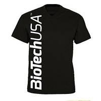 Одежда Футболка BioTech, черная L