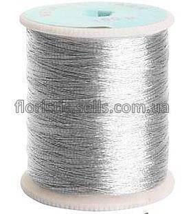 Люрексовая нить серебро