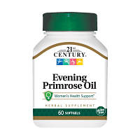 Жирные кислоты 21st Century Evening Primrose Oil, 60 капсул