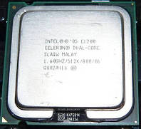 Процессор Intel Celeron Dual-Core E1200 1.60GHz/512K/800, s775, tray