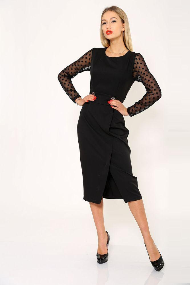 Платье женское 119R466 цвет Черный