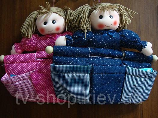 Органайзер с кармашками Кукла