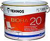 Краска для стен Teknos Biora (Текнос Биора 20),  9л