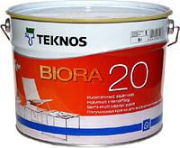 Полуматовая краска Teknos Biora (Текнос Биора 20),  9л Б1