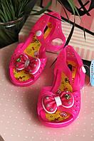 Босоножки силиконовые светящиеся девочка розовые 602-1, фото 1