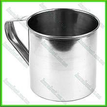 Кружка из нержавеющей стали № 9_V0,350л.(D8,8см H8,5см)