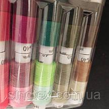 Набор ниток в блистере 40/2 100% полиэстер 180м (уп 20шт на 38 цветов) (РАВ-Н01), фото 3