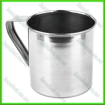 Кружка из нержавеющей стали №10_V0,500л.(D10см H10см), фото 2