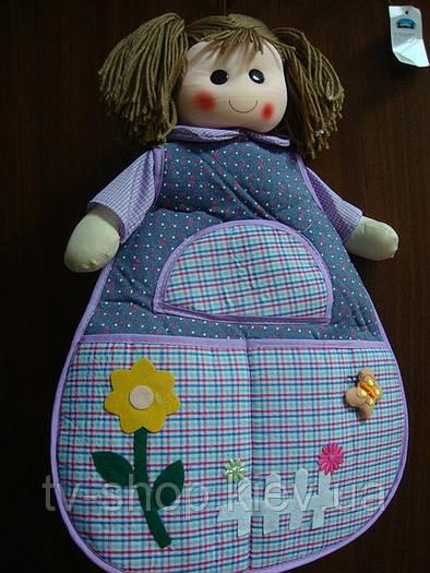 Органайзер-фартушек Кукла 3 кармашка (3 вида)