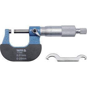 Микрометр 0-25 мм, YT-72300 YATO