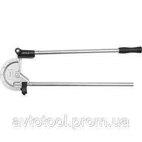 """Трубогин 2-ручний для алюм. і мідних труб ?= 23/32"""" (18 мм) під кут 0- 180° [10], YT-21846 YATO"""