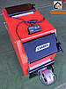 Стальной твердотопливный котел Carbon АКТВ 16 ДГ мощностью 16 кВт