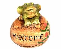 Садовая фигура Прованс жабка 14х13 см (208572)