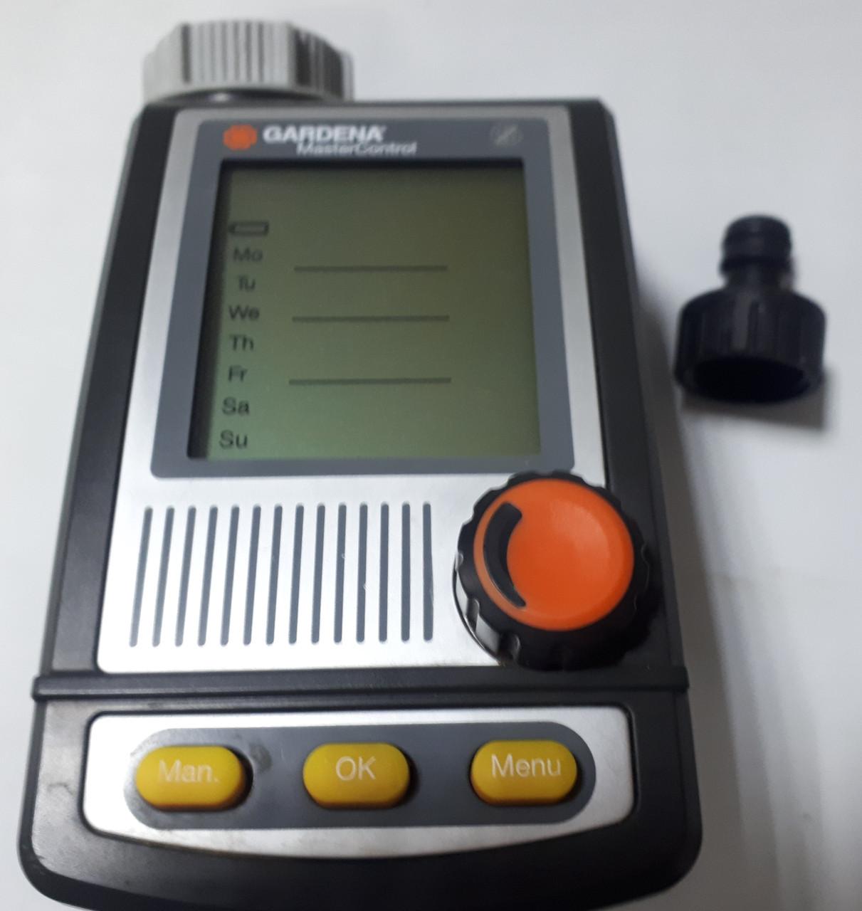 Таймер подачи воды Gardena MasterControl C1060plus (01864-20) Б/У из Германии