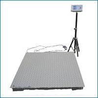 Весы торговые платформенные ПВП-2000 кг 1,2х1,2 усиленная платформа