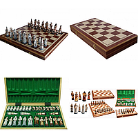 Шахматы Madon фантазия интарсия 56х56 см