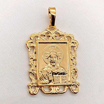 Ладанка Xuping медицинское золото позолота 18К А/В 6-0015