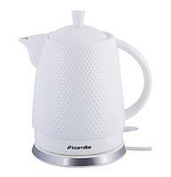 Электрический чайник керамический 1,5 л Kamille KM-1725