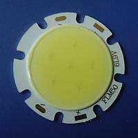 COB модуль сверхяркий мощный светодиод  LED SMD теплый и холодный белый DC 18В 3200K 6500К 350LM ~ 400LM