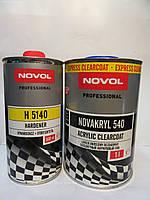 Лак бесцветный Novol 540 Express 2+1 (1л.+0,5 отвердителя)