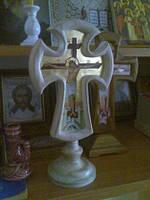 Крест с иконой