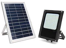 Світильники, прожектори на сонячних батареях