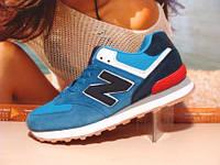 Кроссовки New Balance 574 (реплика) синие 42 р., фото 1