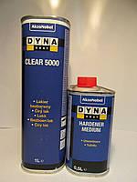Лак автомобильный акриловый Dyna Clear 5000 HG 1л + отвердитель Hard Medium 0.5л