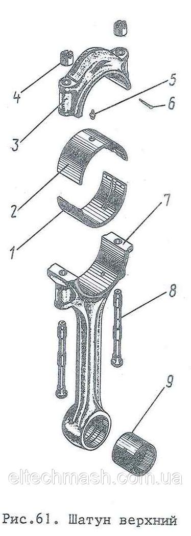 Втулка верхньої головки шатуна Д100.24.103 Сб-6