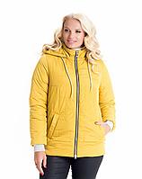 Демисезонная куртка женская молодежная размеры 44-58