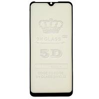Защитное стекло GLS 5D Full Glue для ZTE Blade A5 2020 черное 0,3 мм в упаковке