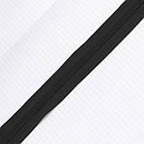 Молния спиральная тип 5 чёрная для сумок a1115 (20 м.), фото 5
