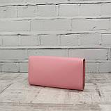 Кошелёк america розовый из натуральной кожи kapri, фото 4