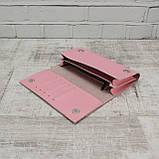 Кошелёк america розовый из натуральной кожи kapri, фото 7