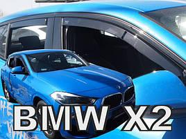 Дефлекторы окон (ветровики)  BMW X2 F39 5-ДВЕРНЫЙ 2018->
