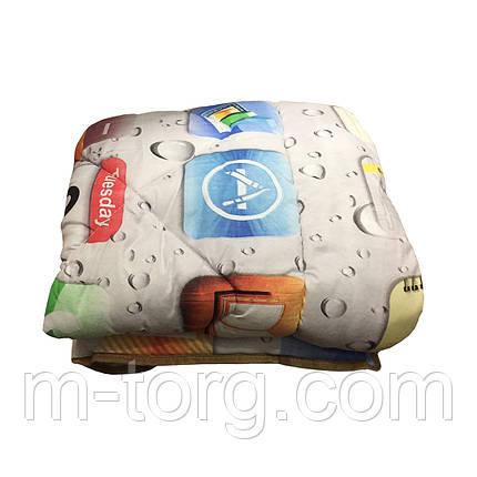 Одеяло детское холлофайбер 110/140 ткань поликоттон, фото 2