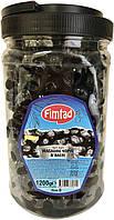 Оливки чёрные (маслины) вяленые с косточкой 1200 г Fimtad S (Турция)