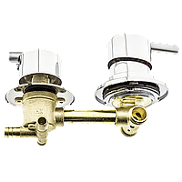 Змішувач душової кабіни (S-3 \ 9) вбудовується на три положення під штуцер. (Китай)