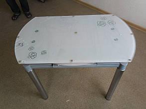 Стол Сандра Бело-розовый (Микс-Мебель ТМ), фото 2