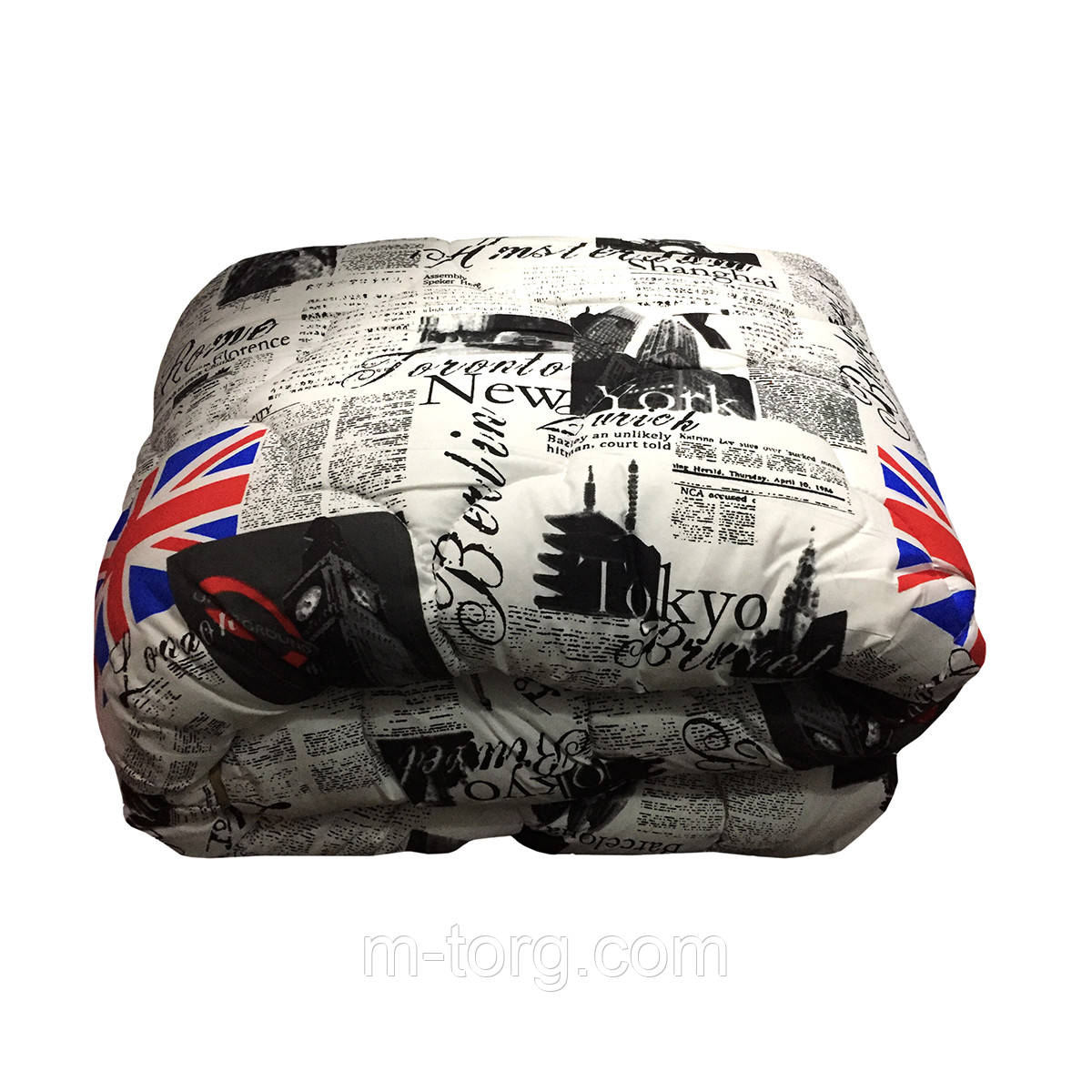 Одеяло полуторное 150/220 шерсть овечья натуральная, ткань хлопок