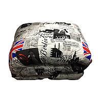 Одеяло евро размер 200/220 шерсть овечья натуральная, ткань поплин