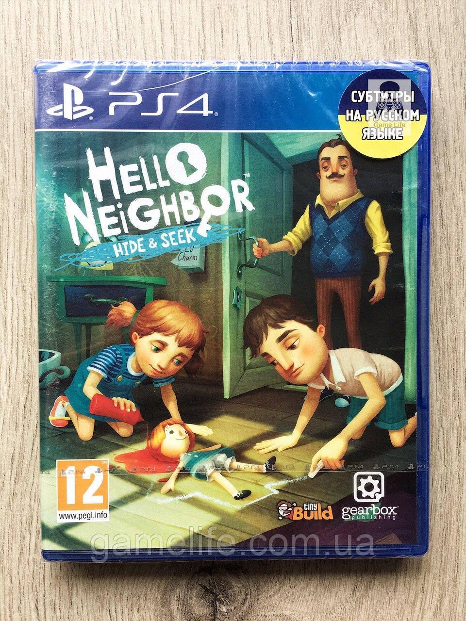 Hello Neighbor Hide & Seek (рус. суб.) PS4