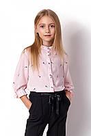 Блузка на 7-11 лет принт ключики