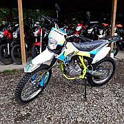 Мотоцикл BSE J3D ENDURO (зеленый)