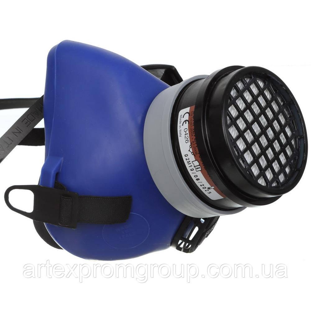 Полумаска UNO Eurmask 7354 с фильтром A1P2
