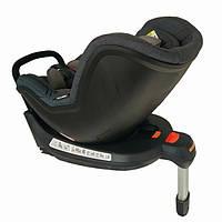 Автокресло детское надежное автомобильное Welldon Safe Rotate FIX (графитовый/серый)